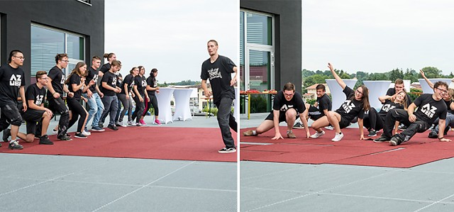 RECK Agrartechnik - Hip Hop, Burger, Beats und Brownies – RECK Sommerparty 2016
