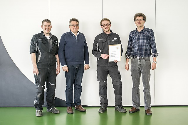 RECK Agrartechnik - Award of the district administrator