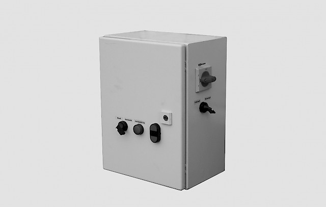 RECK Agrartechnik - Control unit with soft starter